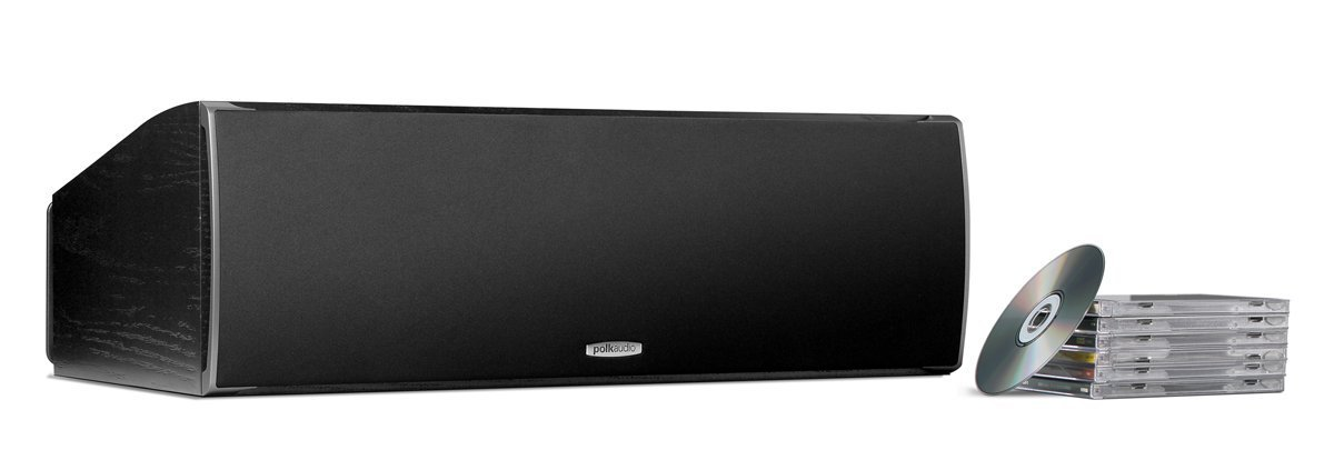 Polk Audio CSI A6 Center Channel Speaker (Single, Black)