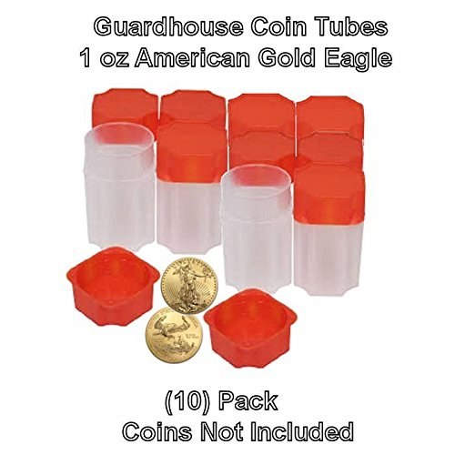 American-Gold-Eagle-1oz-Square-Coin-Tubes-by-Guardhouse-10-pack