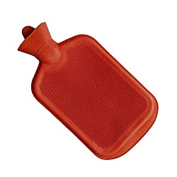 IndoSurgicals Hot Water Bottles (Red)