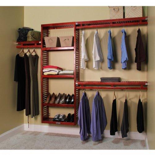Simplicity Closet System Finish: Red Mahogany