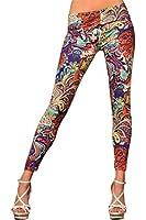 Ninimour- Fashion Women's Pattern Leggings (S-M, Coffee)