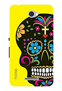 Noise Filmy Skull Printed Cover For Sony Xperia E4