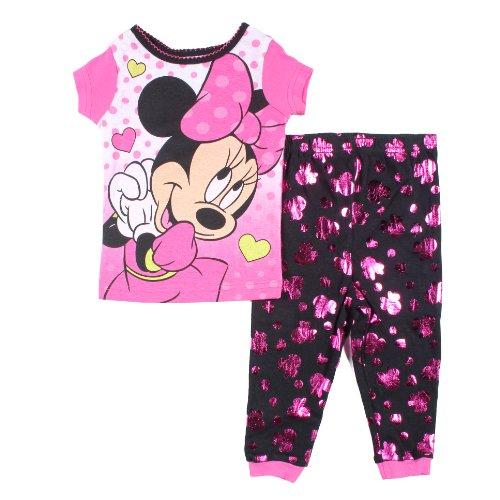 Minnie Mouse Toddler Girls 2 Pc Cotton Sleepwear Set 12M front-524993