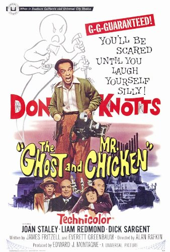The Ghost & The Chicken Poster