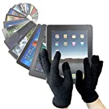 "DURAGADGET LCD Touchscreen Gloves For Cold Weather Use - Works With Your Tablet PC Incl. iPad ""3"" (3rd Generation), Samsung Galaxy Tab And ASUS Eee Pad Transformer - Size Largeby DURAGADGET"