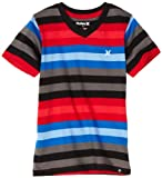 Hurley Boys 8-20 Jersey Boy Graphic Tee, True Red, Large