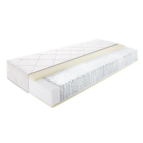 Taschenfederkernmatratze 7-Zonen-Matratze Matratze Allmed Highline 100x200 cm
