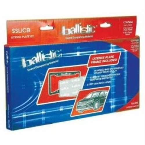 Ballistic SSLICB License Plate Kit
