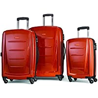 Samsonite Winfield 2 Fashion 3-Piece Hardside Spinner Luggage Set (Orange)