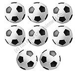 36 mm Foosball Balls , Soccer Table Balls , Football Table Balls - 8 Pcs (For 4.5ft & Above Tables)