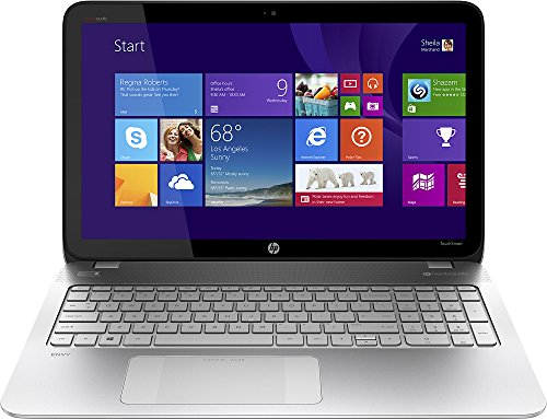 "Hp Envy Touchsmart 15.6"" Touch-Screen Laptop Intel Core I5 4210M, 8Gb Memory - 750Gb Hard Drive - Natural Silver"