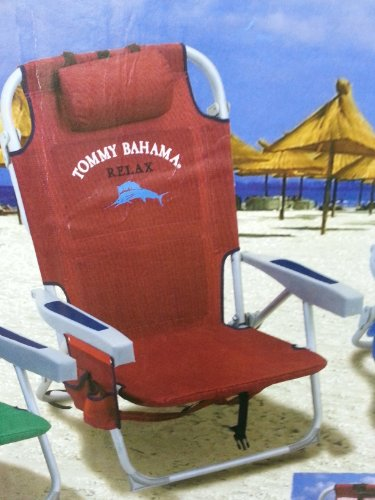 Tommy Bahama Red 2014 Backpack Cooler Chair front-1027009