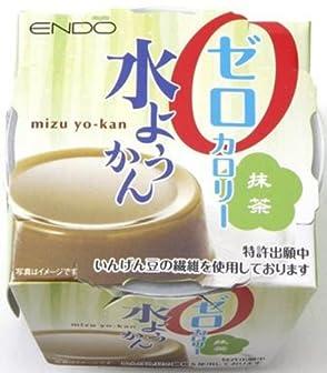 遠藤製餡 ゼロカロリー水ようかん 抹茶 90g×6個