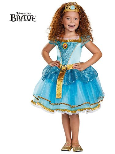 Disguise Disney Pixar Brave Merida Tutu Prestige Girls Costume