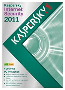 Kaspersky Internet Security 2011, 3 PC, 1 Year Subscription (PC)
