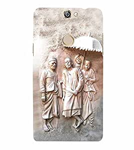 Lord Sai Baba 3D Hard Polycarbonate Designer Back Case Cover for Coolpad Max A-8