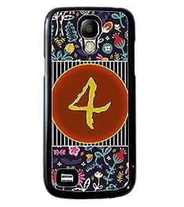 PrintVisa Metal Printed Numeric Designer Back Case Cover for Samsung Galaxy S4 Mini I9190/ I9192-D4753