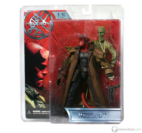 Picture of Mezco HELLBOY SERIES 1.5 - HELLBOY WITH CORPSE Figure (B000WU9XTW) (Mezco Action Figures)