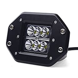 See XCSOURCE 24W 9-30V 30 Degree 2400 Lumen LED Spotlight Lamp Work Light for Working / Driving / Fog, Off Road Spotlight-Jeep Cabin, Boat, SUV, Truck, Car, ATVs Fishing Driving Light Waterproof Car Lamp IP67 LD330A Details