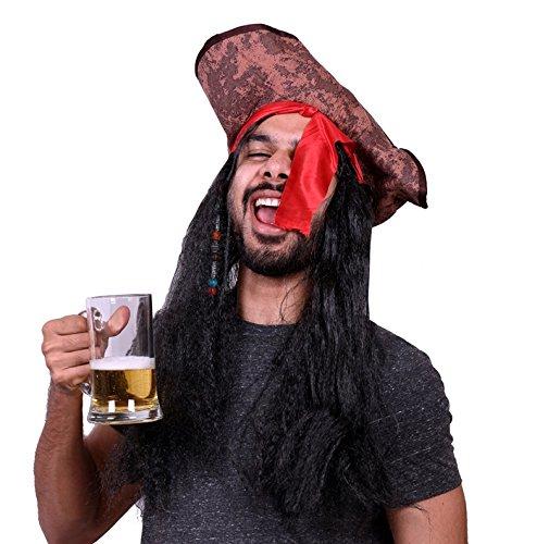 Madcaps Pirate Dreads Hat