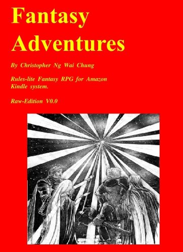 Fantasy Adventures Role-Playing Game (Fantasy Adventures RPG)