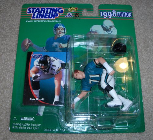 1998 Tony Boselli NFL Starting Lineup Figure