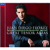 "Juan Diego Florez: Great Tenor Arias ((with bonus track ""Malinconia"" - recorded Live in Recital))"
