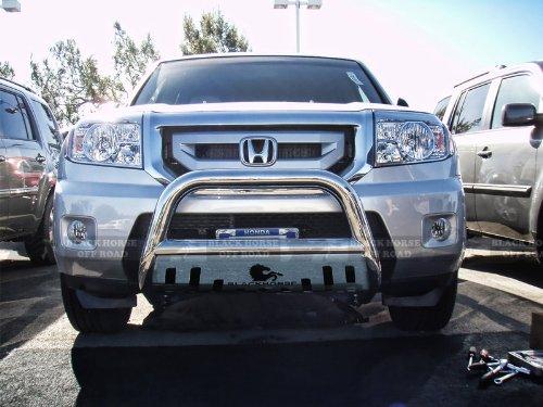 2003-2008 Honda Pilot Stainless Steel Brush Bumper Bull bar