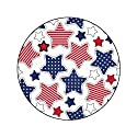 4TH OF JULY STARS Decorative Bathroom Sink Stopper Toppers