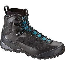 Arcteryx Bora Mid GTX Hiking Boot - Women's Black / Mid Seaspray