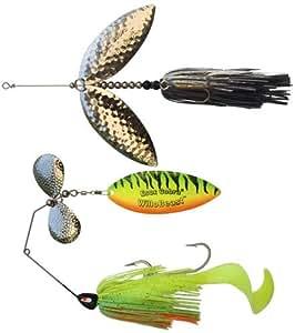 Esox cobra willobeast spinnerbait kit for Amazon fishing spinners