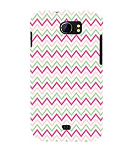 printtech Abstract Lines Design Back Case Cover for Micromax Canvas 2 A110::Micromax Canvas 2 Plus A110Q