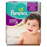 Pampers Premium Protection Active Fit Gr.4 (Maxi) 8-16 kg Monatsbox, 168