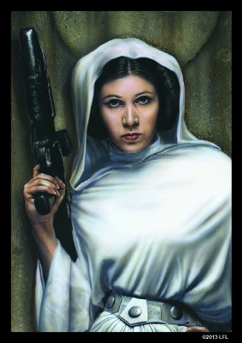 Star Wars Art Sleeves: Princess Leia (Pack of 50 Sleeves) - 1