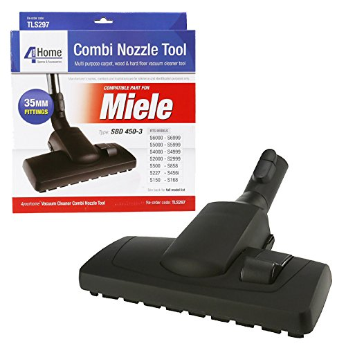 First4Spares 35mm Combination Floor Tool Brush Head For Miele S2000 - S8000 Canister Vacuum Cleaners (Vacuum Head Carpet compare prices)