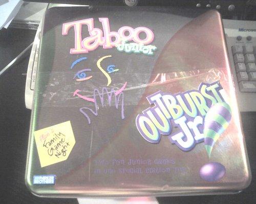 Taboo Junior & Outburst Junior Combo Tin - Buy Taboo Junior & Outburst Junior Combo Tin - Purchase Taboo Junior & Outburst Junior Combo Tin (Parker Brothers & Hasbro, Toys & Games,Categories,Games,Board Games,Trivia Games)