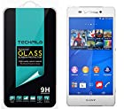 TechFilm®- Sony Xperia Z3v [Tempered Glass] Screen Protector, Premium Ballistic Glass Round Edge [0.3mm] Ultra-Clear Anti-Scratch, Anti-Fingerprint, Bubble Free, Maximum Screen Protection from Bumps, Drops, Scrapes, and Marks [1 Pack]- Retail Packaging