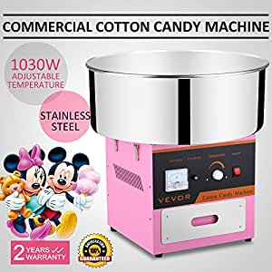 vevor candy floss machine instructions
