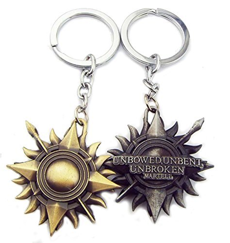 bronze-game-of-thrones-keychain-house-martell-of-sunspear