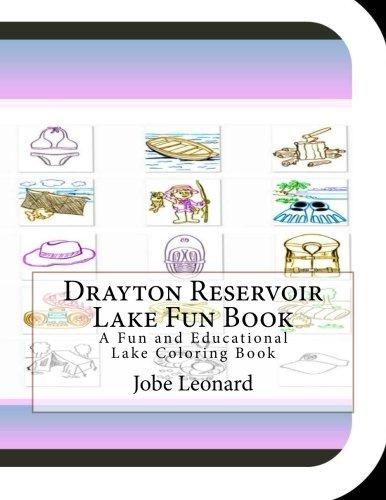 Drayton Reservoir Lake Fun Book: A Fun and Educational Lake Coloring Book
