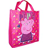 Disney Girls' Official Disney Characters Shopping Carry Bag Peppa Pig Hearts