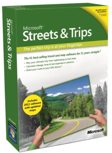 Buy cheap Streets and Trips 2011