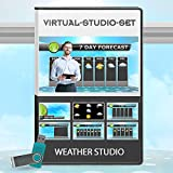 Weather Video Production Package - Virtual News set Background Kit