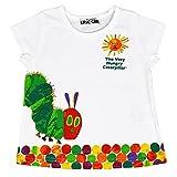 アスナロ(トップス 半袖tシャツ) 半袖Tシャツ キッズ はらぺこあおむし プリント トップス カットソー120 女の子