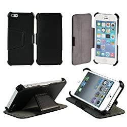 AceAbove iPhone 5s Case / iPhone 5 Case - Protective [Black] Stand Case for Apple iPhone 5s / iPhone 5