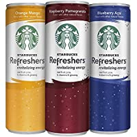 12-Pack Starbucks Refreshers Variety Pack (12 Ounce Slim Cans)