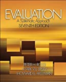 img - for Evaluation (text only) 7th (Seventh) edition by Dr. P. H. Rossi,M. W. Lipsey,Dr. H. E. Freeman book / textbook / text book