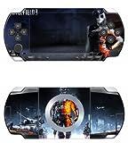 Battle Vinyl Decal Skin Sticker for Sony PSP 1000