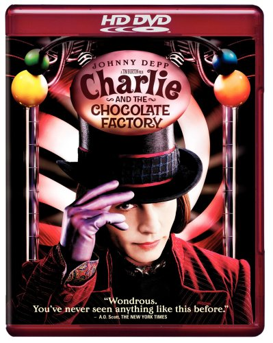 Cover art for  Charlie and the Chocolate Factory [HD DVD]