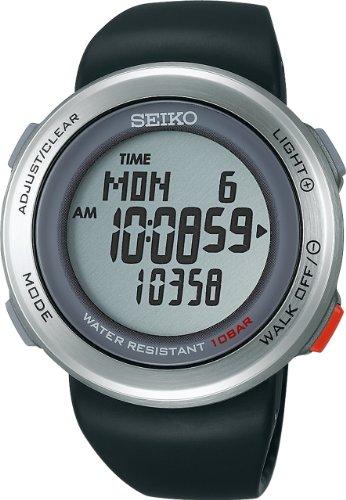 [セイコー]SEIKO 腕時計 PROSPEX プロスペックス PEDO WALKING ペド ウオーキング 歩数計つき ブラック SBDE003